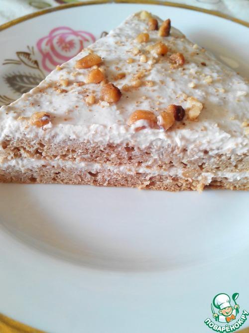 Диетический банановый торт рецепт