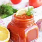 Томатный соус с лимоном для пикника