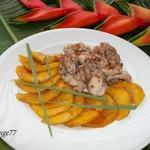 Куриное филе с пряным манго