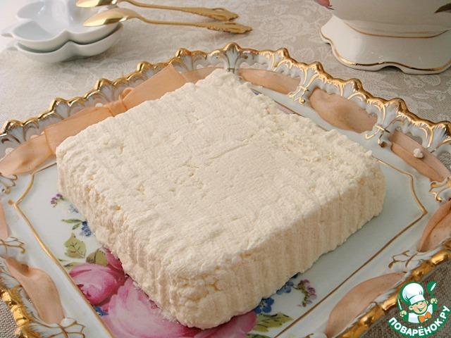 Сыр из сметаны рецепт с фото