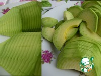 Салат из свеклы с авокадо ингредиенты