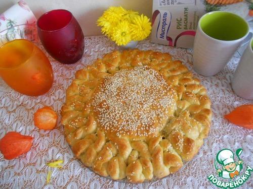 Пирог солнце рецепт