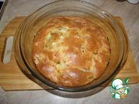 Заливной купустный пирог с копченой курицей ингредиенты