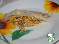 Конверты из рисовой бумаги с печенью ингредиенты