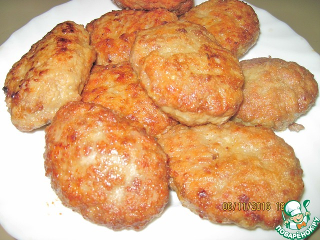 Рецепт фарша для куриных котлет без хлеба