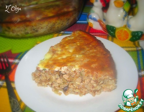 гречневая запеканка с фаршем в духовке рецепты