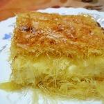 """Пирог с творогом из теста """"Кадаиф"""""""