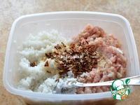 Куриная колбаса с рисом и паприкой ингредиенты