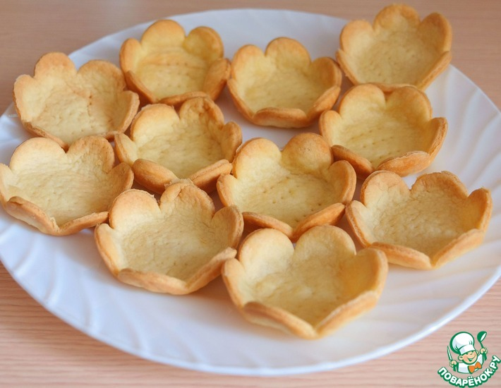 Рецепт: Тарталетки для соленых салатов