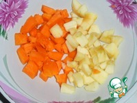 Карп с пшеном и яблоками ингредиенты