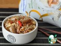 Рис по-кантонски ингредиенты