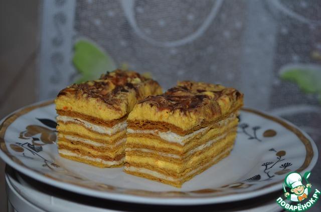 Слоеный торт с вареньем фото 1
