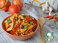 Тёплый рисовый салат в мексиканском стиле ингредиенты
