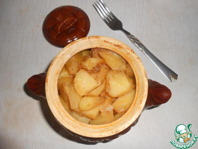 Рецепт картошки с ребрышками в горшочках