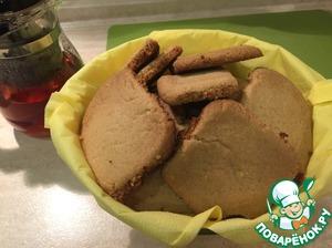 """Рецепт: Печенье из арахисовой пасты """"Руссиано"""""""