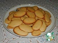 Тонкое печенье на сухом молоке ингредиенты