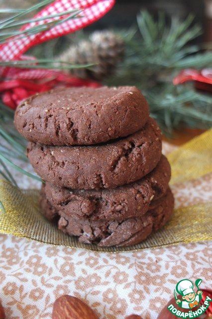 Рецепт Хрустящее шоколадное печенье