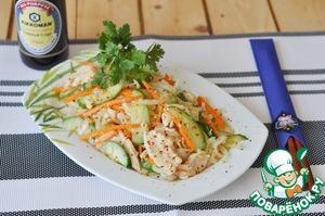 корейский салат из рыбы