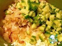 Рисовый салат с копчёной рыбой ингредиенты
