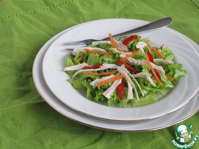 Салат из куриного мяса на поваренок ру