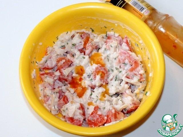 Кальмары со сметаной рецепты