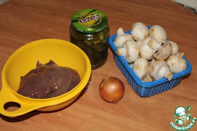 печень свиная рецепт с фото пошагово