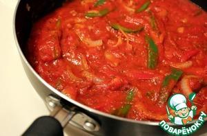 Подлив с томатной пастой