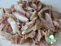Японский салат с курицей и имбирем ингредиенты