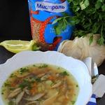 Суп с гречкой и грибами