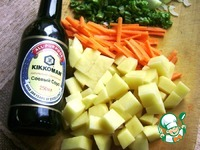 Жареный суп с овощами и чечевицей ингредиенты