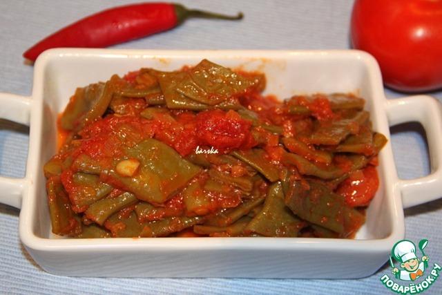 Блюда из плоской фасоли рецепты