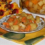Кабачки в пикантном соусе на зиму