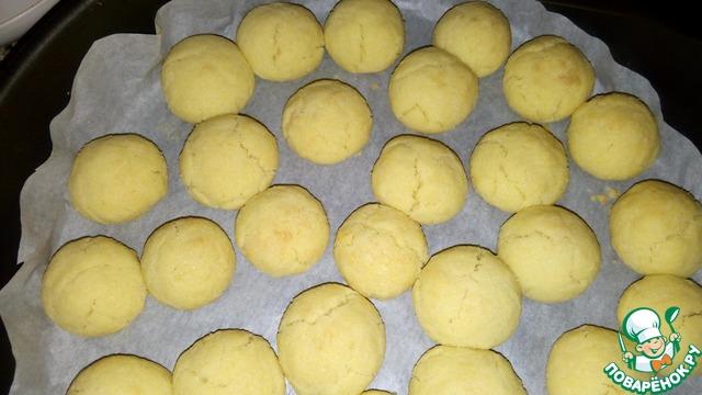 Песочное печенье снежок рецепты