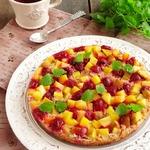 Фруктово-ягодный гречневый бисквит
