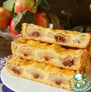 Яблочный пирог или пирожные