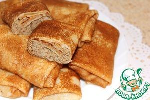 блины с печенью говяжьей рецепт с фото