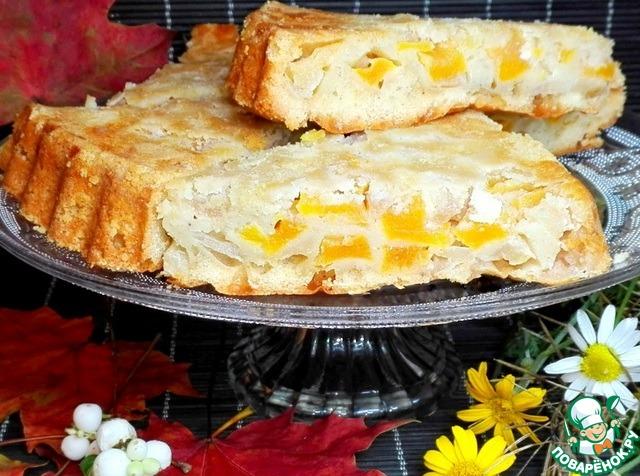 пирог с тыквой и яблоками рецепты
