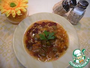 Рецепт рассольника с помидорами