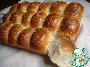 Праздничный немецкий хлеб