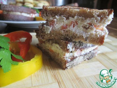 Сэндвич в сэндвичнице рецепты 60