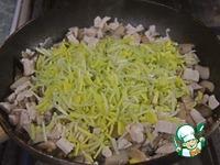 Киш с курицей, грибами и брокколи ингредиенты