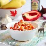 Салат из болгарского перца по-азиатски