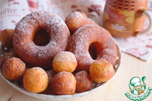 рецепт пончиков в контакте