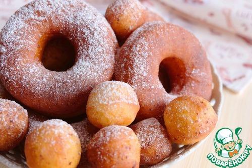 Пончики рецепт с фото пышные