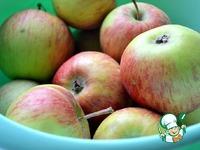 Яблочный пирог в сковороде ингредиенты