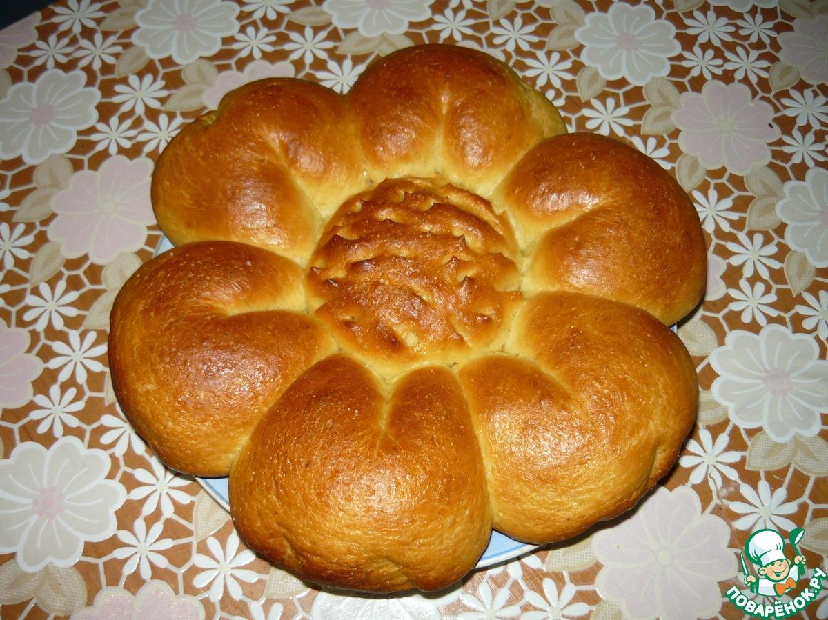Рецепты пирогов цветок фото