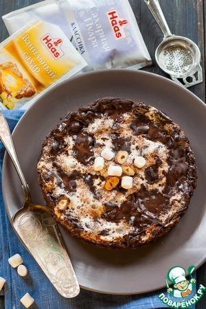 """Рецепт: Шоколадный пирог """"Грязь Миссисипи"""""""