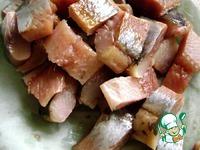 Сельдь в икорном соусе ингредиенты
