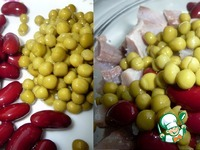 Салат с солёной сельдью и фасолью ингредиенты