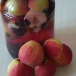 Яблочный компот со смородиной на зиму